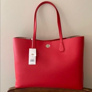 Tory Burch Brody Tote Liberty Red